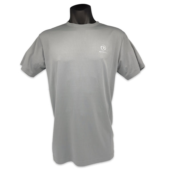 Mens Riviera Lifestyle T-Shirt - Silver