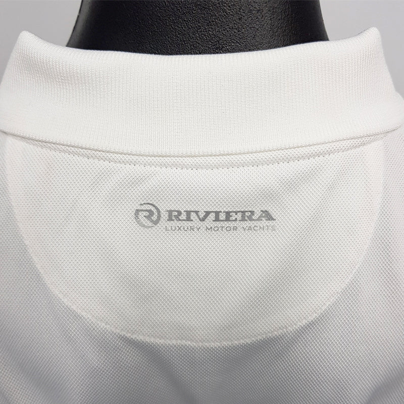 Mens Riviera Polo - White