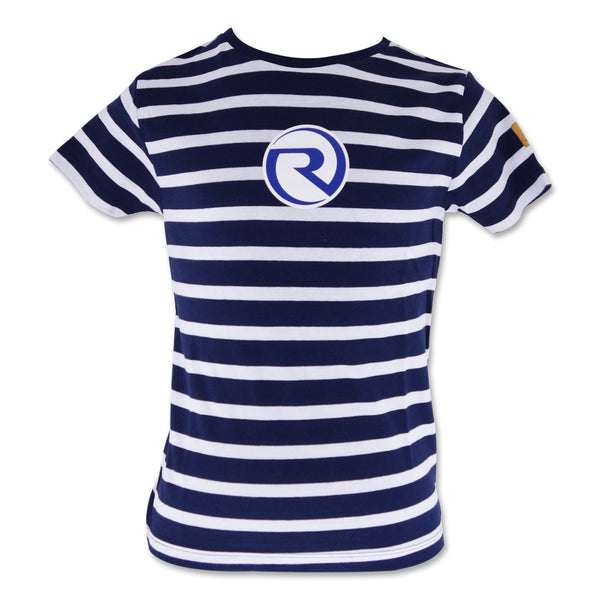 Boys Tee - Navy Stripe R