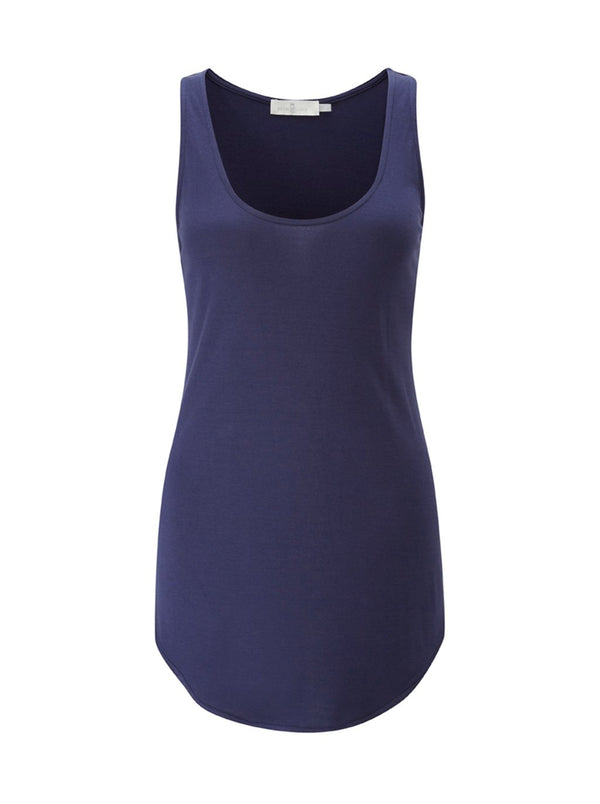 Ladies Sleeveless Top - Navy