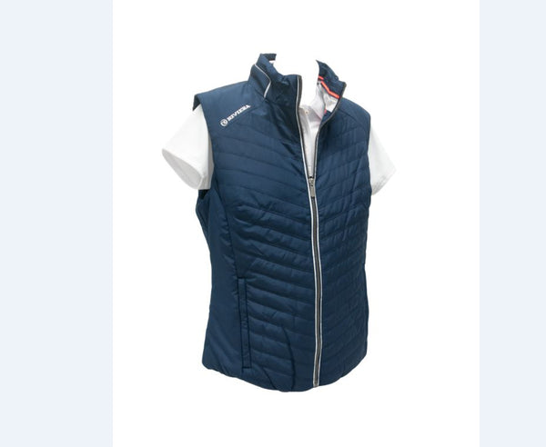 Ladies Crew Vest - Navy