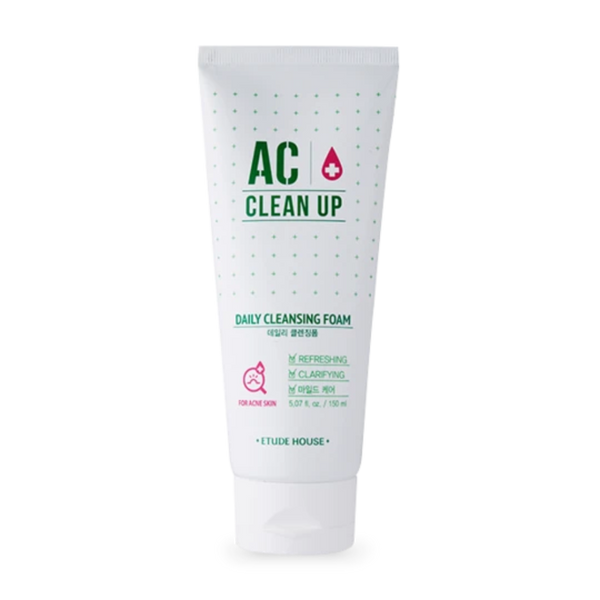 AC Clean Up Daily Cleansing Foam 150ml - i shop seoul