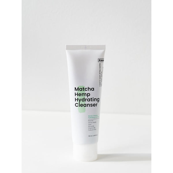 Matcha Hemp Hydrating Cleanser 120ml - i shop seoul