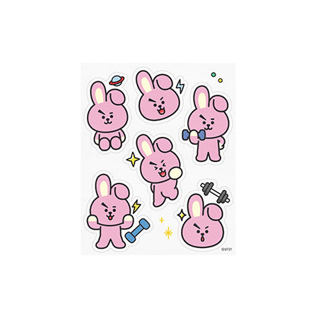 BT21 Face Point Mask_Cooky (4ea) - i shop seoul