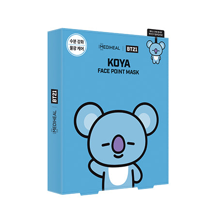 BT21 Face Point Mask_Koya (4ea) - i shop seoul