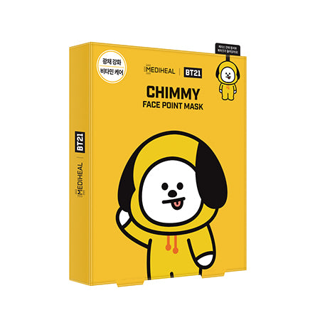 BT21 Face Point Mask_Chimmy (4ea) - i shop seoul
