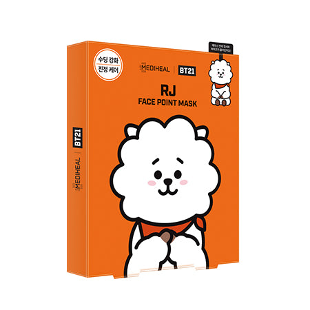 BT21 Face Point Mask_RJ (4ea) - i shop seoul