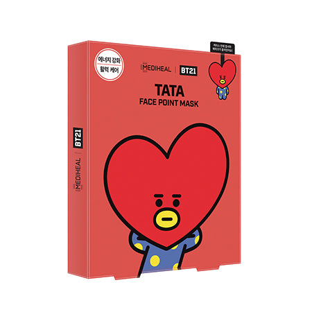BT21 Face Point Mask_TaTa (4ea) - i shop seoul