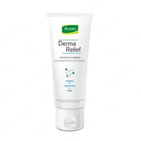 Derma Relief Moisture Foam Cleanser 125ml