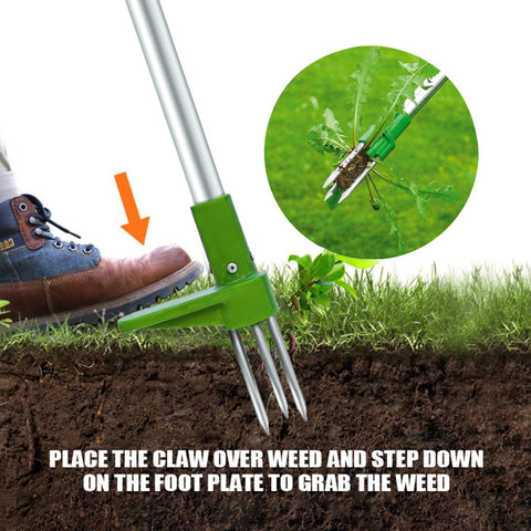 Standing Weed Puller - How to Operate