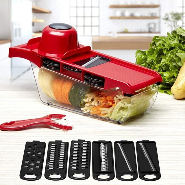 6-In-1 Vegetable Slicer