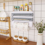 Hanging Paper Towel & Storage Rack