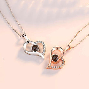 "100 Languages ""I Love You"" Heart Pendant"