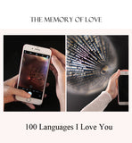 "100 languages ""I Love You"" Heart Necklace"