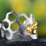 Honeycomb Gift Set Ring