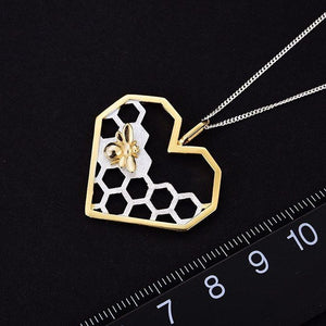 Honeycomb Necklace Size