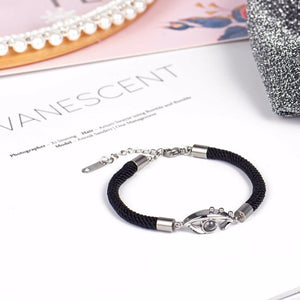 "100 Languages ""I Love You"" Angel Tears Bracelet"