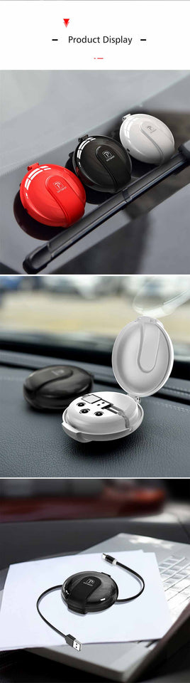 3-in-1 Retractable Charger