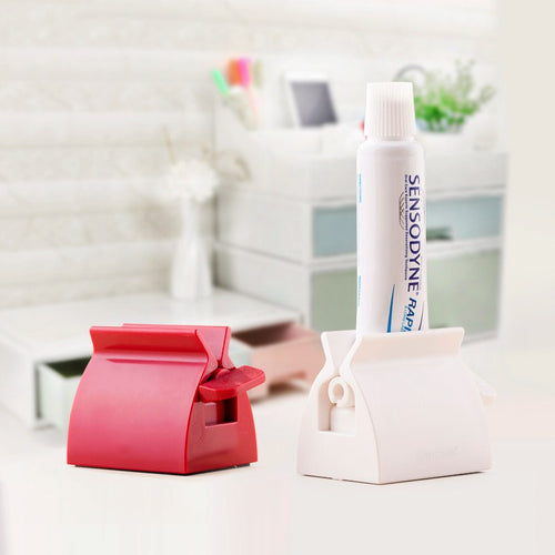 Rolling Toothpaste Squeezer & Stand