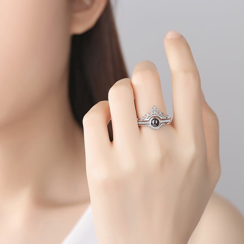 100 Languages I Love You Ring Simply Subtle