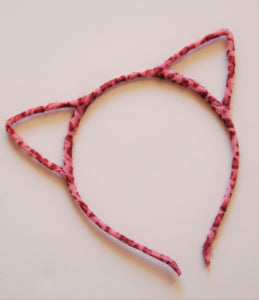 Leopard Cat Ear Headband