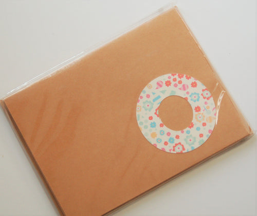 Letter O note cards