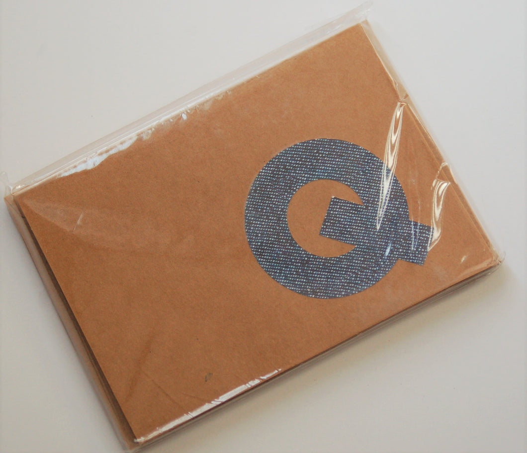 Letter Q note cards