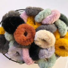 Load image into Gallery viewer, Fuzzy Bunny scrunchies
