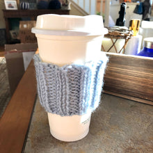 Load image into Gallery viewer, Knit Coffee cozy