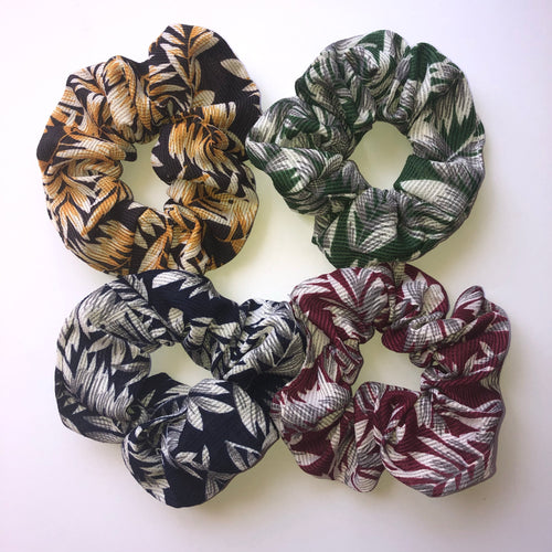 Hawaiian Fabric scrunchies