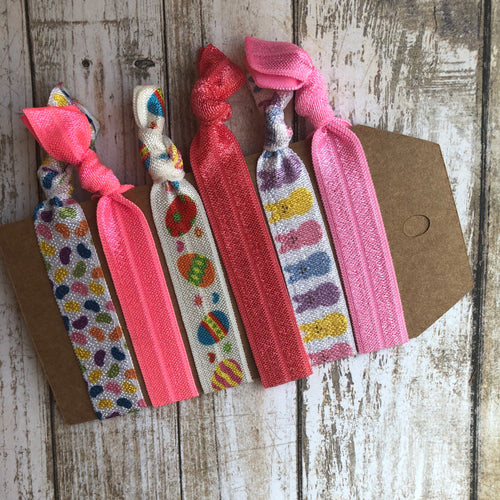 Easter Hair tie set