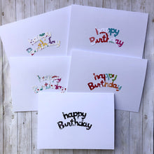 Load image into Gallery viewer, Happy Birthday note cards