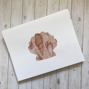 Seashell note cards