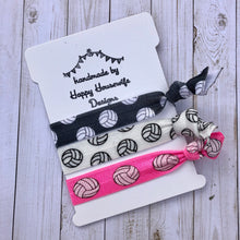 Load image into Gallery viewer, Volleyball Hair tie set