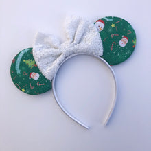 Load image into Gallery viewer, Holiday mouse ears