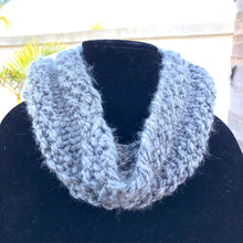 Load image into Gallery viewer, Hand knit Infinity Scarf