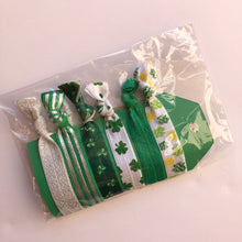 Load image into Gallery viewer, St. Patrick's Day Hairtie set