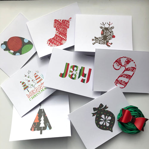 Holiday note cards - set of 8