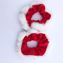 Load image into Gallery viewer, Santa scrunchies