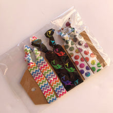 Load image into Gallery viewer, Mermaids & Rainbows Hair tie set