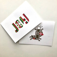 Load image into Gallery viewer, Reindeer & Joy note cards