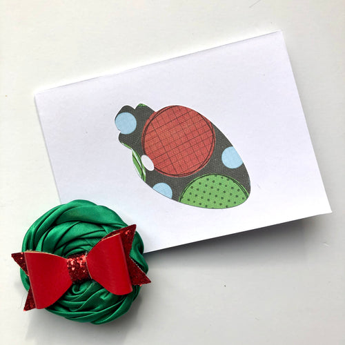 Ornament note cards