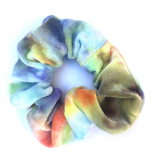 Load image into Gallery viewer, Tie-dyed Velvet scrunchies
