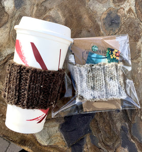 Knit Coffee cozy