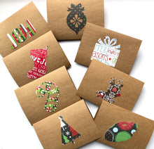 Load image into Gallery viewer, Holiday note cards - set of 8
