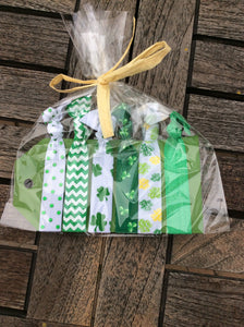 St. Patrick's Day Hairtie set
