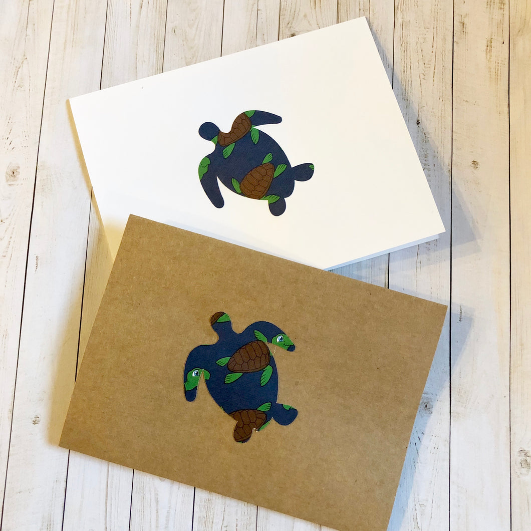 Turtle note cards