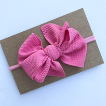Load image into Gallery viewer, Messy Bow on Nylon Headband
