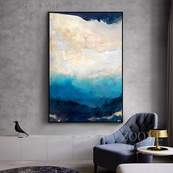Abstract Dream Colour Print Series On Canvas