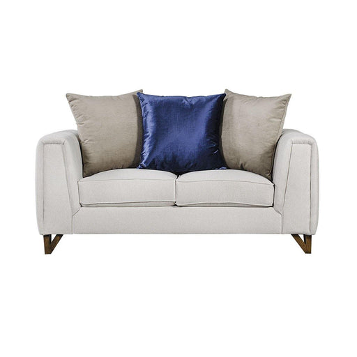 Love seat Lucas - Sand - Blue Room